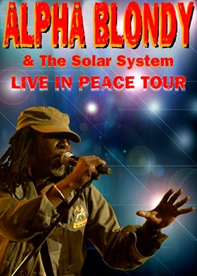 Alpha Blondy Live In Peace Tour